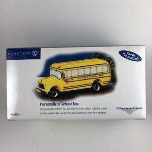 Department 56 Classic School bus #55202 in box